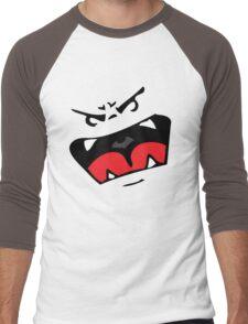 Cute vector monster Men's Baseball ¾ T-Shirt