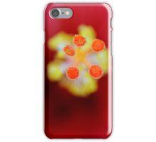 Hibicus close up iPhone Case/Skin