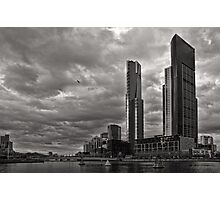 Another Southbank Storm - Melbourne Photographic Print