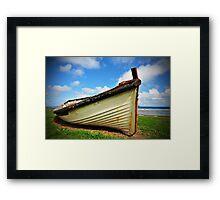 Lighter Boat - Norfolk Island Framed Print
