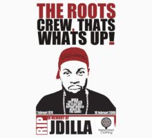 TRIBUTE TO THE GREAT J DILLA Kids Clothes