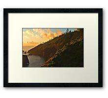 First Light - Norfolk Island Framed Print