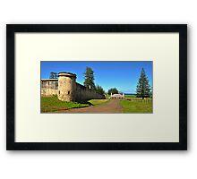 Kingston - Norfolk Island Framed Print