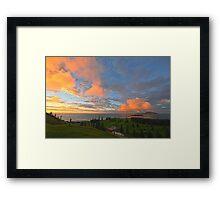 Sunrise, Kingston - Norfolk Island Framed Print