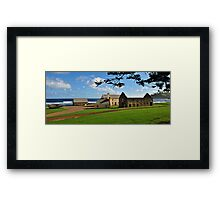 Convict Ruins - Norfolk Island Framed Print