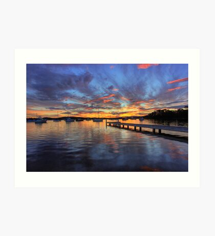 Bolton Point Sunset Art Print