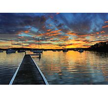 Bolton Point Sunset Photographic Print