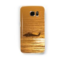 Sunset Helicopter  Samsung Galaxy Case/Skin