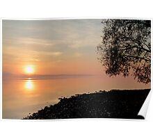 Sunrise - Ottawa River Poster