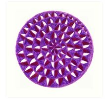 Sahasrara Chakra - The Highest Art Print
