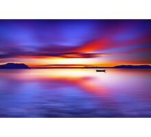 Anchored for the Night Photographic Print