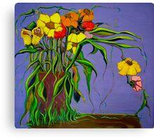 Alien Blooms Canvas Print