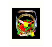 Jar of Lollies Art Print