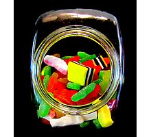 Jar of Lollies Photographic Print