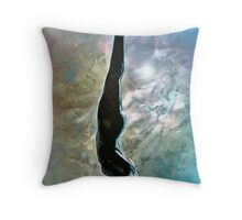 descente de femme Throw Pillow