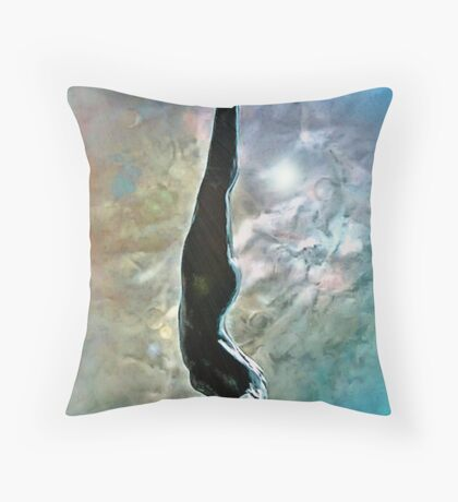 descente de femme Throw Pillow