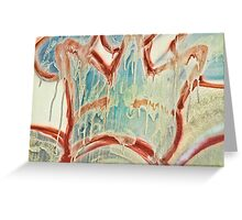 I Was King for a Day - Then It Melted Away Greeting Card