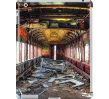 Train to abandonement iPad Case/Skin