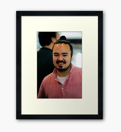 MasterChef | Adam Liaw | Series 2 Framed Print