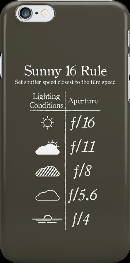 Sunny 16 Rule - White by Alessandro Arcidiacono