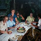 The Last supper - oil on canvas - 72&quot; x 52&quot;  by Dave Martsolf