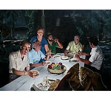 """The Last supper - oil on canvas - 72"""" x 52""""  Photographic Print"""