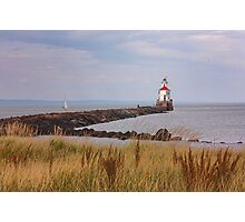 Lighthouse on Wisconsin Point Photographic Print