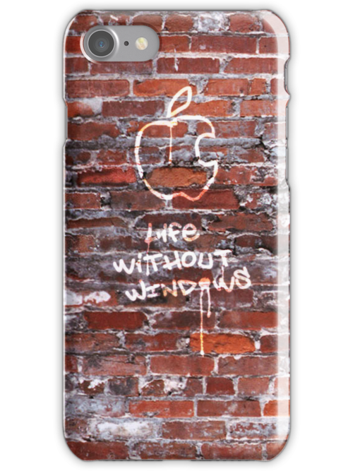 'Life Without Windows' Graffiti by abinning