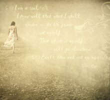 My Abyss-with Victor Hugo Quote by Lea  Weikert