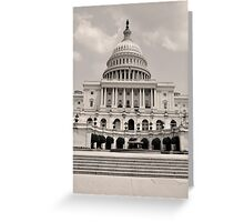 Capitol Hill Greeting Card