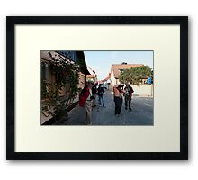 Photographers walkabout Framed Print