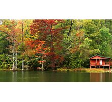 The Fly Shop At Beavers Bend Photographic Print