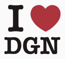 I Love DGN by candacing