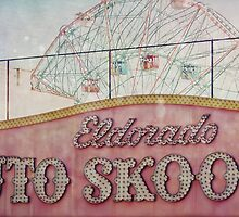 Coney Island Dreaming : Auto Skoot by Jane Garratt