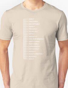 Beard Scale Unisex T-Shirt