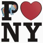 I &lt;3 PONY by Northern Dash