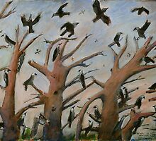 a murder of crows 2 by Jeremy Wallace