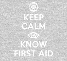 St John - Keep Calm Eye Know First Aid Unisex T-Shirt
