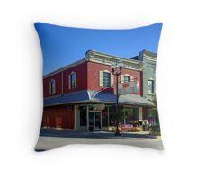 City Cafe aka City Drug Throw Pillow