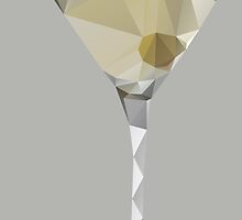 Shaken ... Not Stirred - Low Poly Martini by kimBLiSS