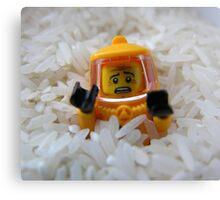 Lego Rice Canvas Print