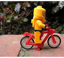 Lego bicycle Photographic Print