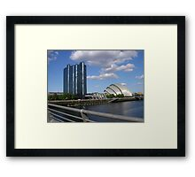 The Armadillo On The Clyde 1, Glasgow Framed Print