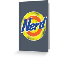 Nerd Greeting Card