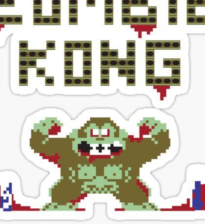 Zombie Kong Sticker