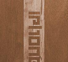Two-tone Wood Effect by Alisdair Binning