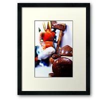 Georgie & The Dragon Framed Print
