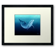 Riversoul Blue ~ Dolphin Framed Print