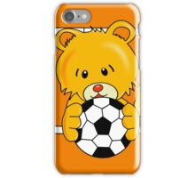Soccer Bear iPhone Case/Skin