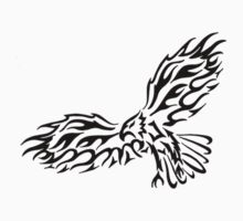 Tribal eagle by wildbanksia